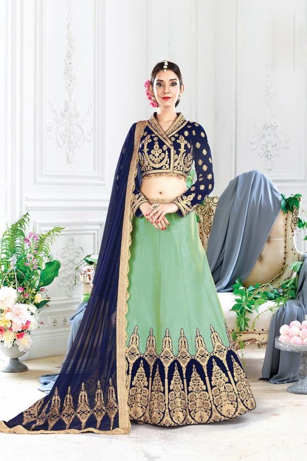 Lehenga sarees collection