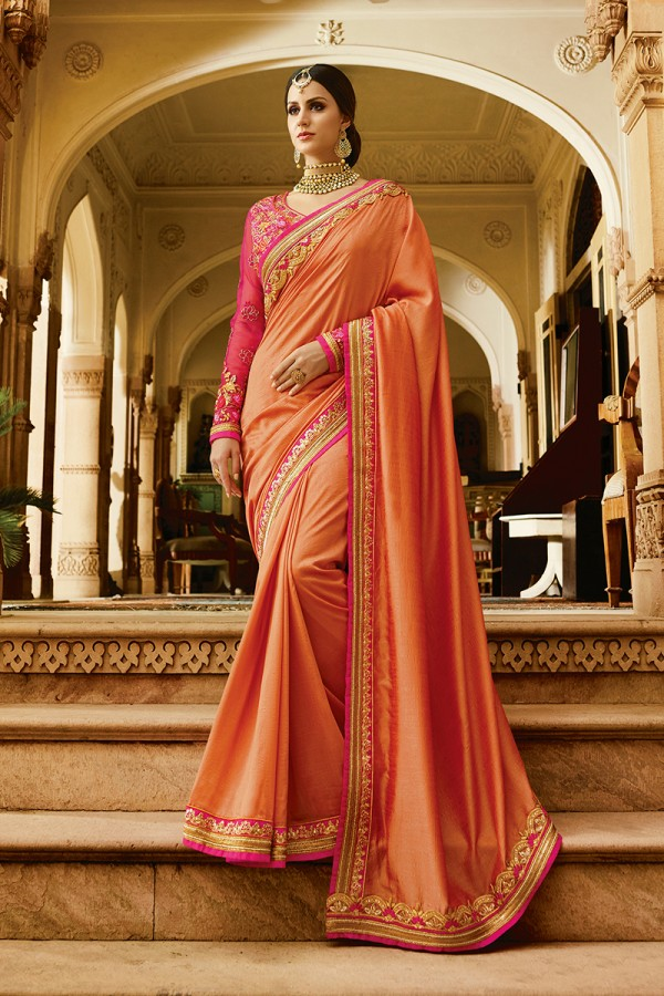 Wholesale Heavy Embroidery sarees