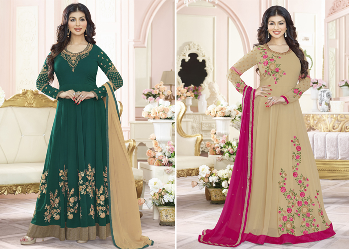 0239c5cc1 New Trend of Fashion these days Anarkali Salwar Suits - Buy Eco ...