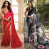 Celebrity designer sarees